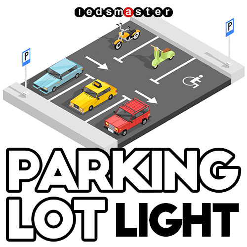Led Parking Lot Lighting Commercial Parking Area Lamps