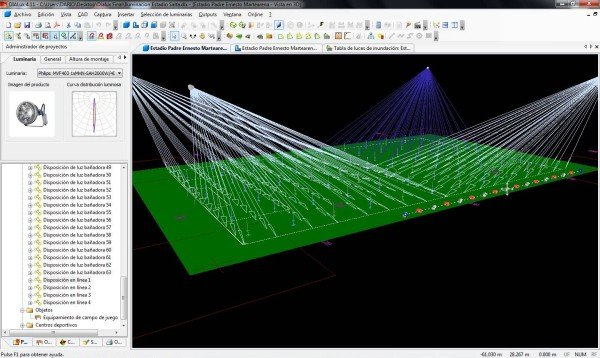 Dialux Photometric Lighting Project Design