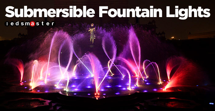 Water Fountain Lights Led Color Changing Lights