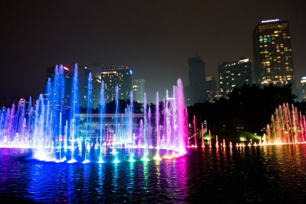 Water Fountain Lights Led Color Changing