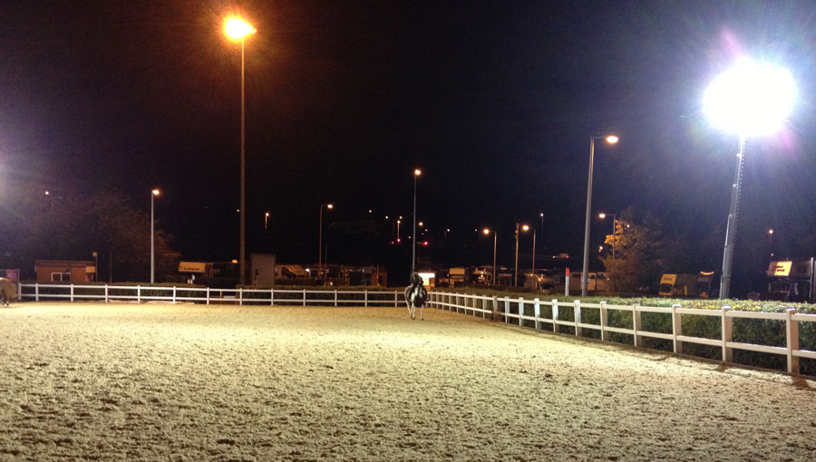 LED outdoor horse arena lights & Horse Arena Lighting: How to Light Up an Indoor and Outdoor Arena by ...