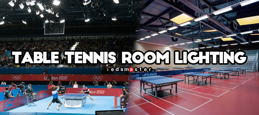 Led Lights For Table Tennis Stadium And Room