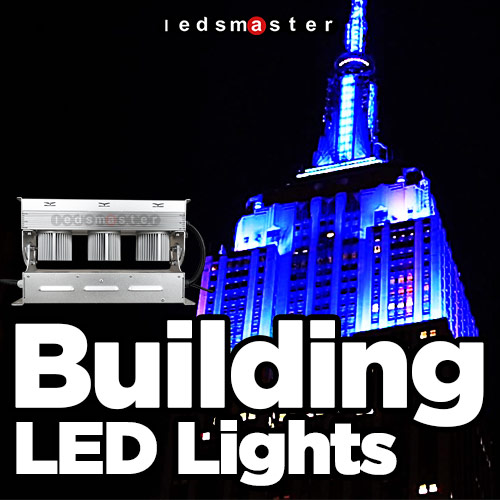 Led Building Lights Exterior Facade Colored Lighting