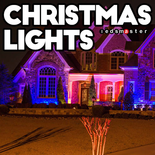 Key Arena Christmas Lights: Christmas Programmable RGB Lights With Wireless LED Controller
