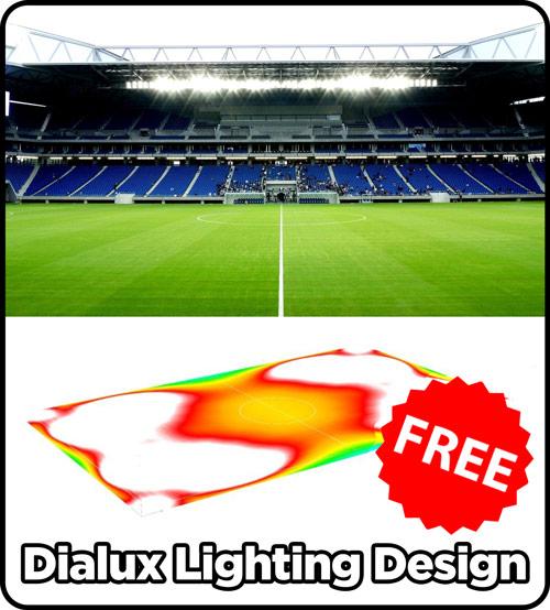 Football Stadium Lights End Table: Best Lighting Design For Football Field (Aug 2018