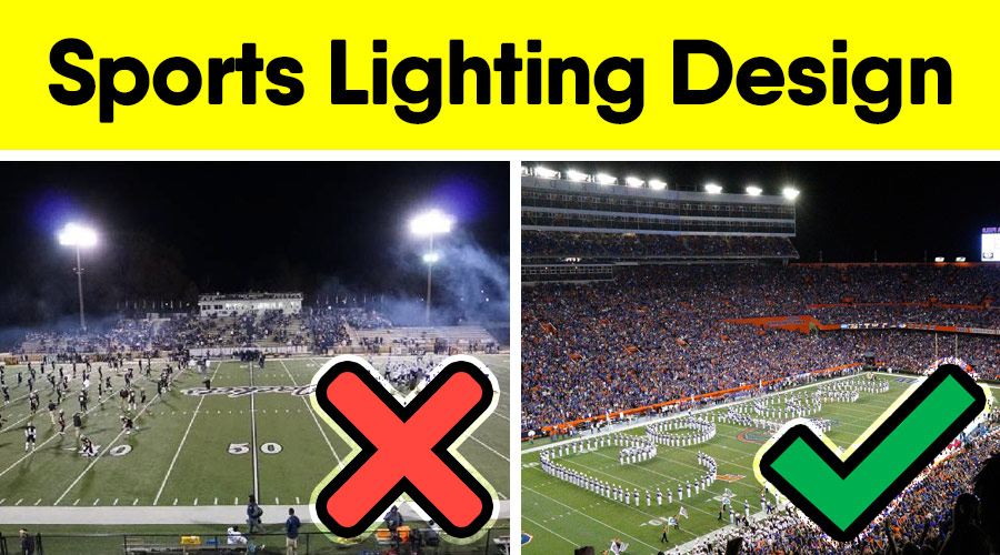 Best Lighting Design For Football Field