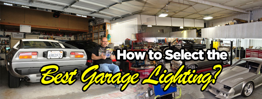 Lighting For Your Garage