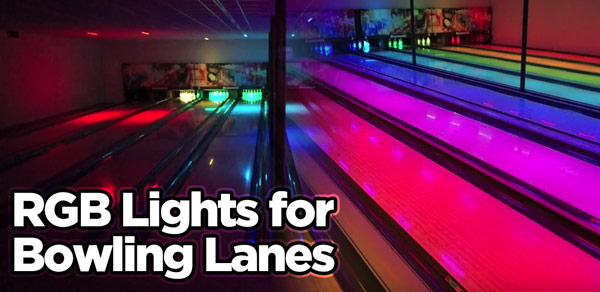 Bowling Alley Amp Center Lighting Led Lights For Bowling Lanes