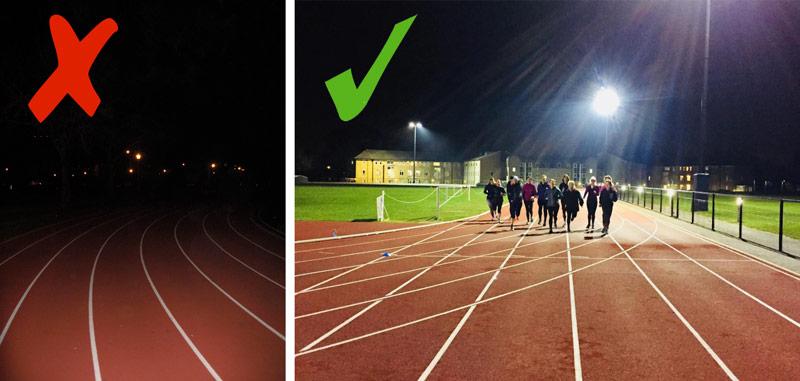 High School Sports Lighting Led College Stadium Lights