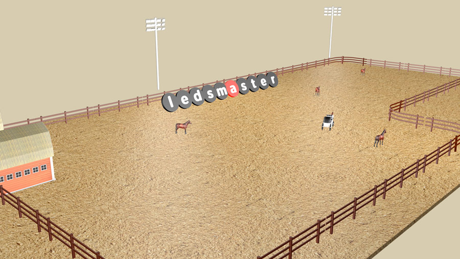 Horse Arena Lighting 2019 Update How To Light Up An