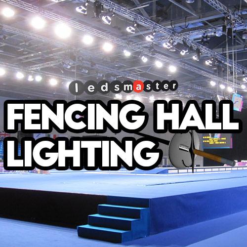 Fencing Hall Lighting Led Strip Piste Lights