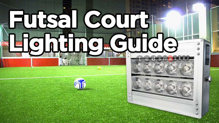 Futsal Court Lighting Led Lights For Five A Side
