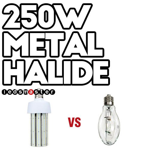 250 watt metal halide led equivalent for replacement