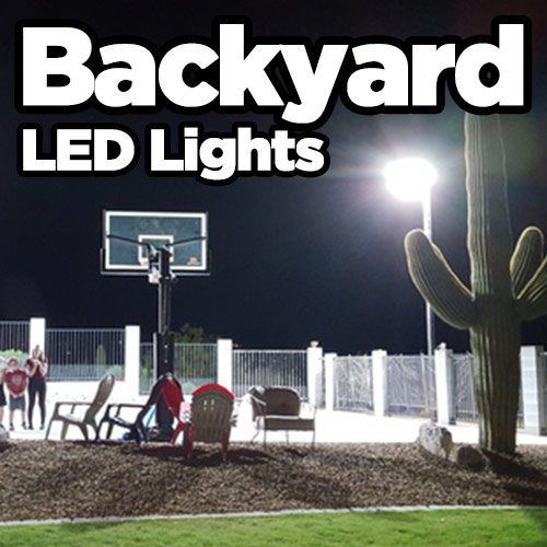 Backyard Flood Lights Led Lights For Backyard