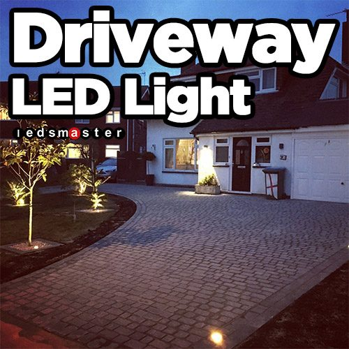 Led Driveway Lighting Solar Powered Motion Sensing