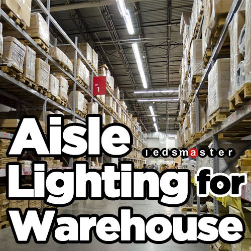 High Bay Linear Lights For Warehouse And Factory Aisle
