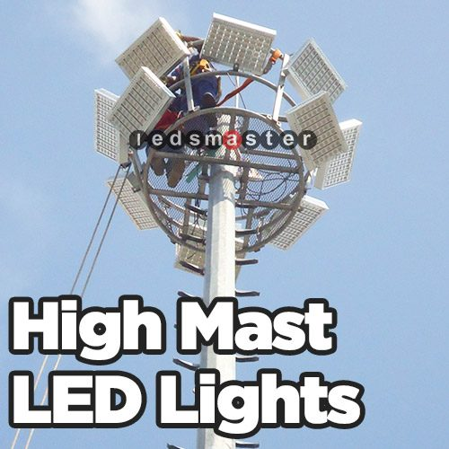 Light Tower Baseball Training: High Mast LED Lighting For Tower, Public Places And
