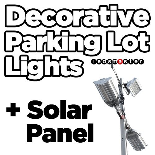 LED Post Top Lighting Fixtures