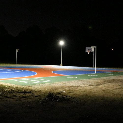 Outdoor Basketball Court Led Pole Lights